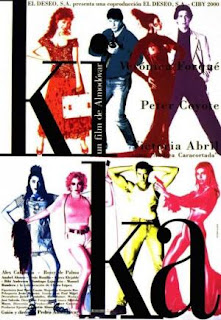Kika (1993) Comedia de Pedro Almodóvar