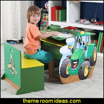 John Deere Johnny Tractor Activity Table and Chair Set