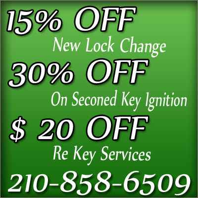Locksmith in San Antonio TX 210 858-6509