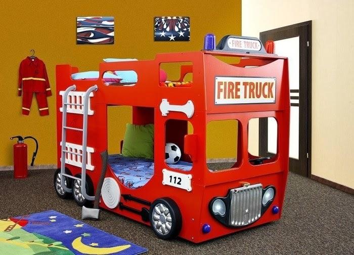 Dormitorios con camas coche dormitorios colores y estilos - Camas coches infantiles ...