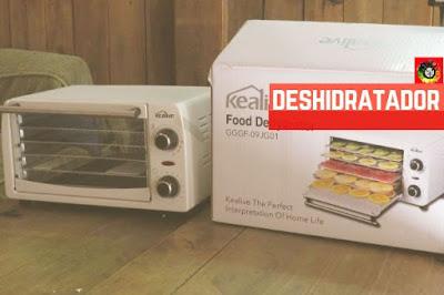 Nuestra elección fue el deshidratador de alimentos Kealive, te explicamos nuestras razones