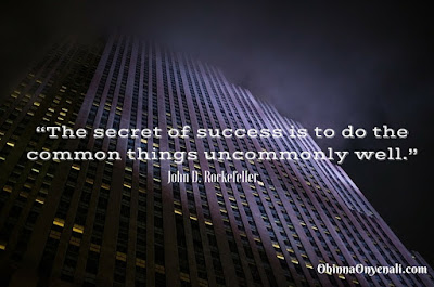 John D. Rockefeller's quotes on success in business