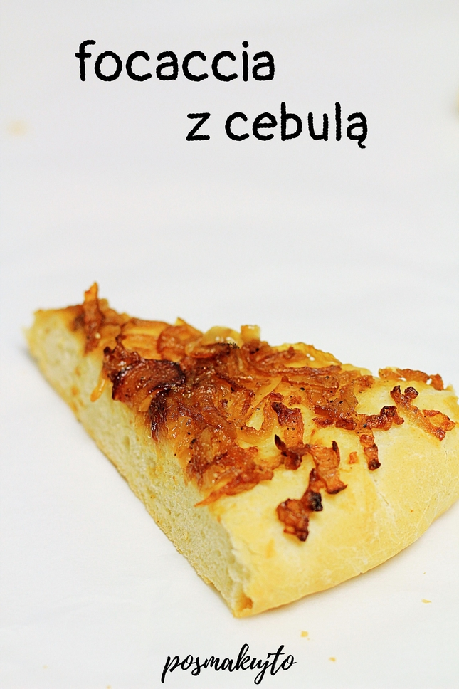 Focaccia z cebulą