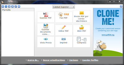 Crear y convertir documentos PDF a multiples formatos