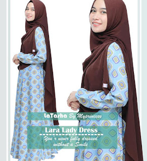 Gamis Latasha Lara Lady Dress
