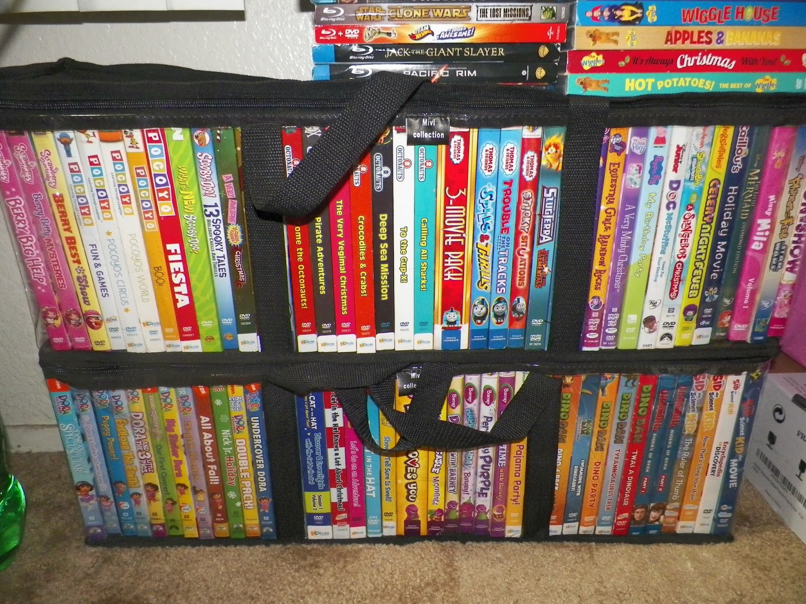 My 2 Daughters Have A Collection Of Dvd S And It Has Been Problem Where To Them I Usually Just Put Under The Tv Rack But Since They