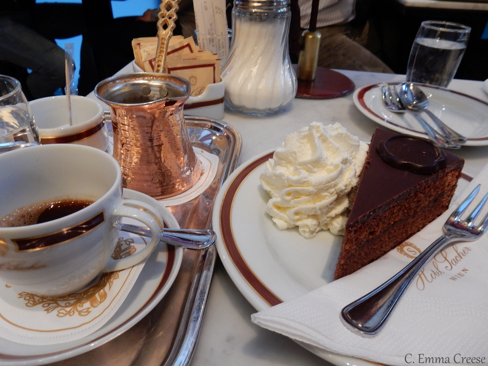 Cafe Sacher Vienna Adventures of a London Kiwi