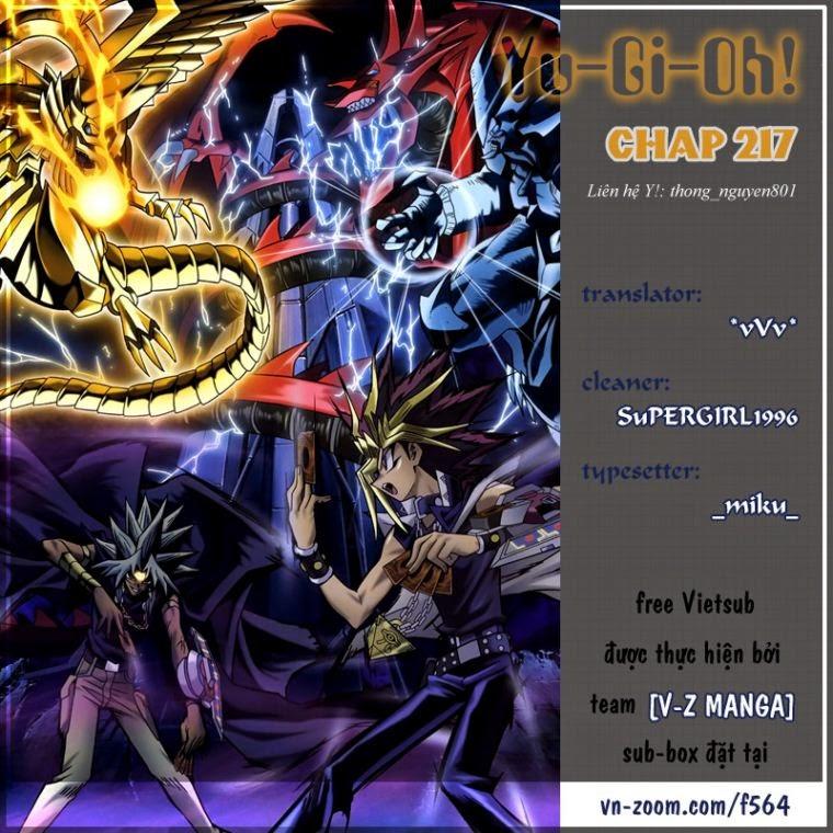YUGI-OH! chap 217 - bóng tối thức tỉnh trang 1