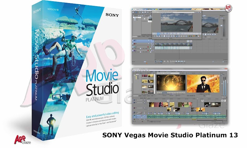 SONY Vegas Movie Studio Platinum 13 For windows