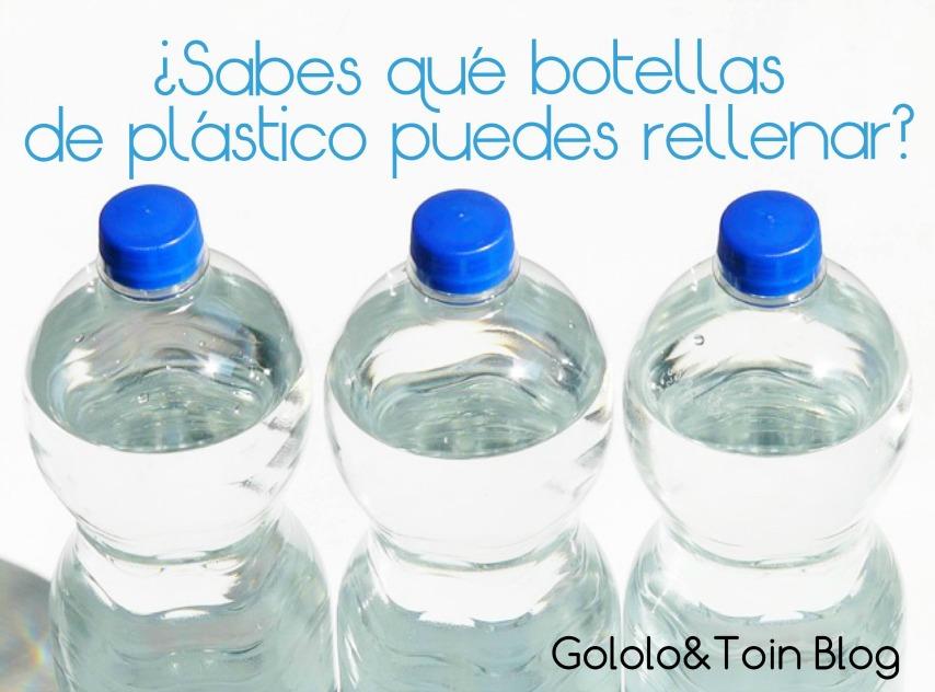 Sabes qu botellas de pl stico puedes rellenar gololo - Que se puede hacer con botellas de plastico ...