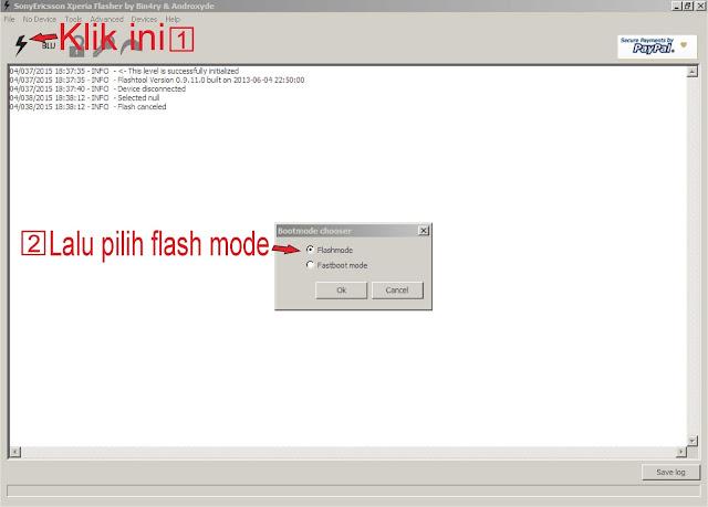 Cara Flashing Sony Xperia Z5 e6653 (bootloop) | Apkandro