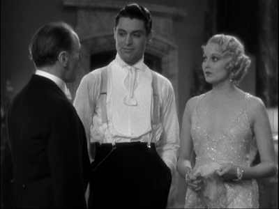 Roland Young, Cary Grant, and Thelma Todd in This is the Night (1932)