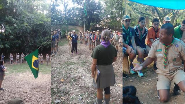 Ponta de Flecha Escoteiro Distrital reúne mais de 90 participantes em Mogi Guaçu(SP)