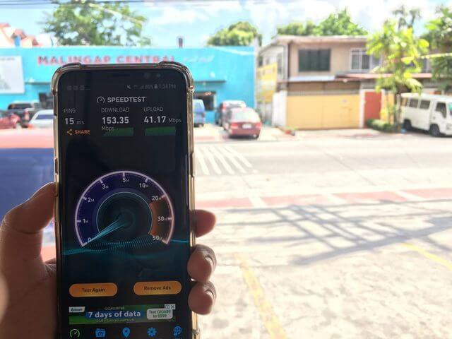 Speedtest in Quezon City