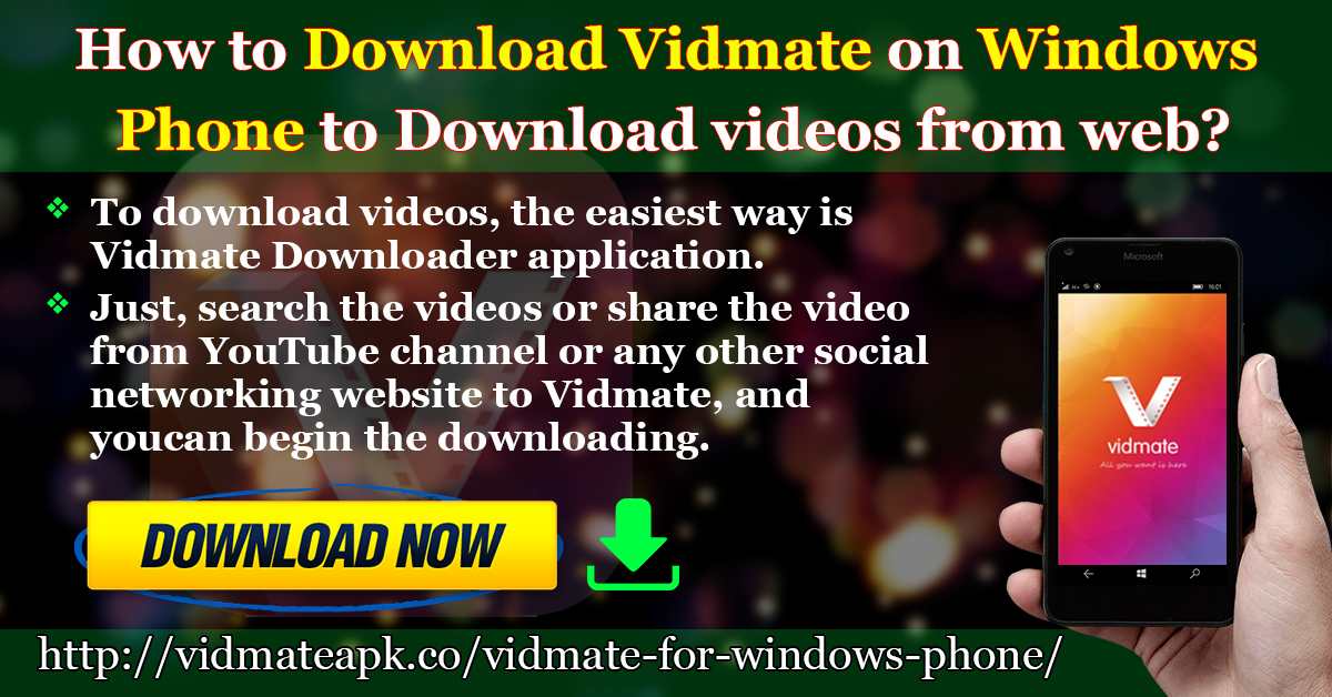 download youtube on microsoft phone