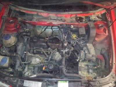 El taco motor esta roto