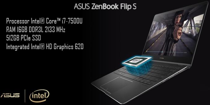 """ASUS ZenBook Flip S UX370 """" Notebook 360° Tertipis di Dunia """""""
