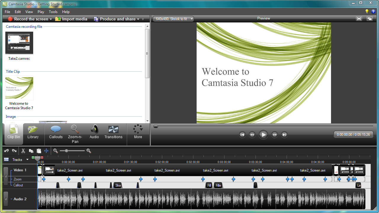 free version of camtasia