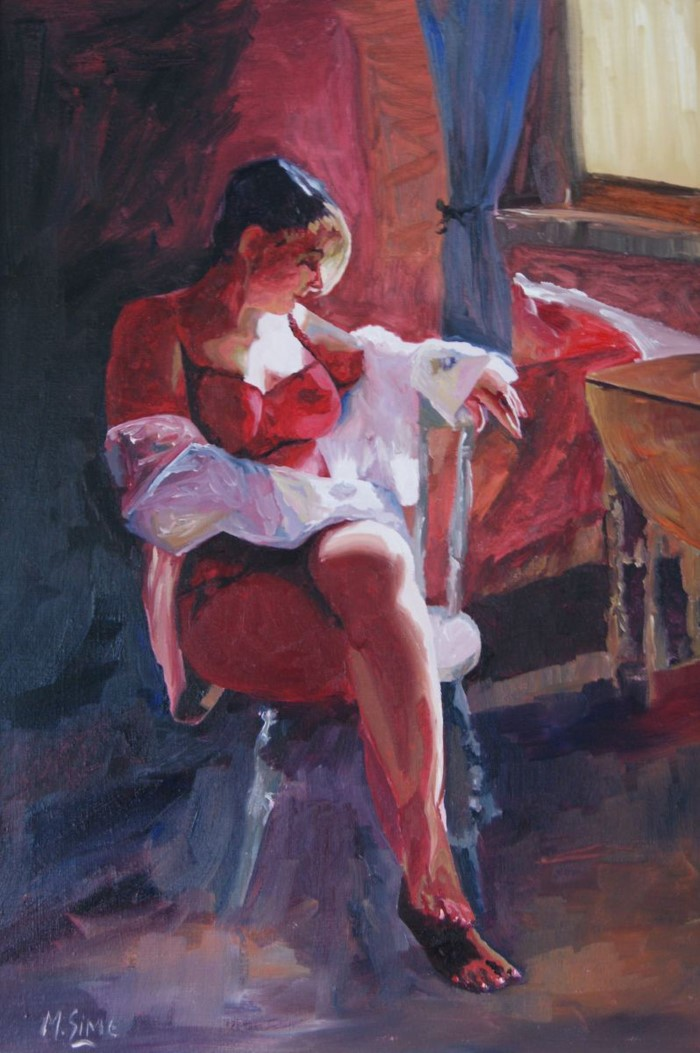 Американский художник. Marjory Sime 3