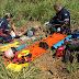 Anel Viário:Colisão entre Caminhão e moto deixa dois rapazes feridos gravemente