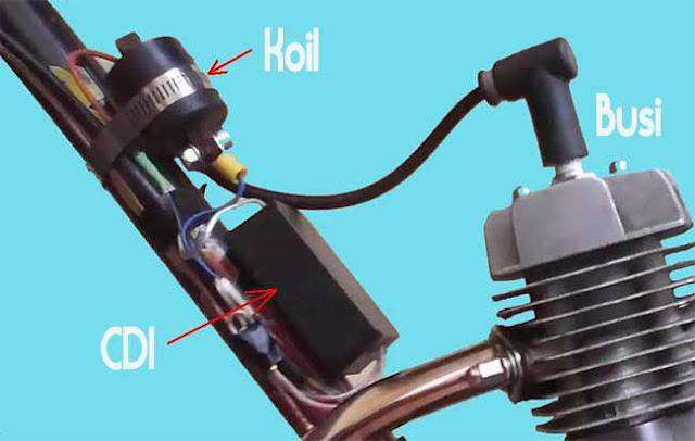 Cara Mengecek CDI Motor Mati atau Rusak
