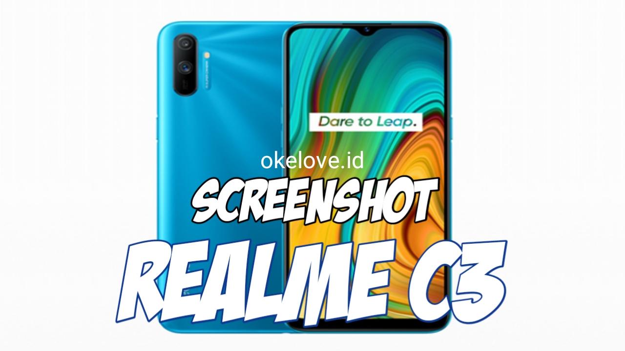Cara Screenshot Realme C3 Realme C11