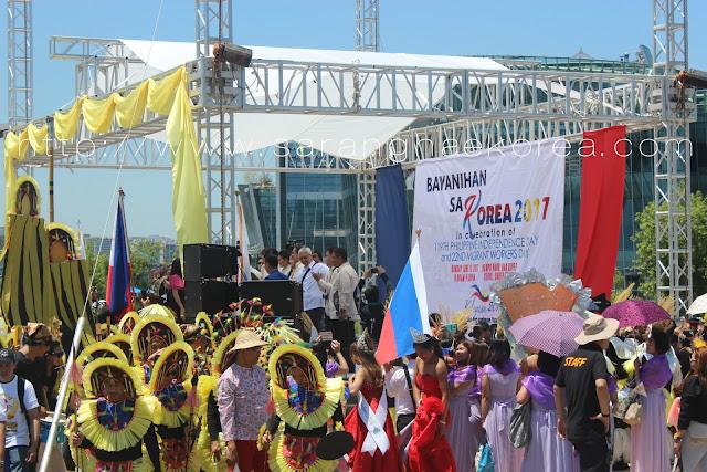The Showcase of Filipino Culture at the Bayanihan sa Korea 2017