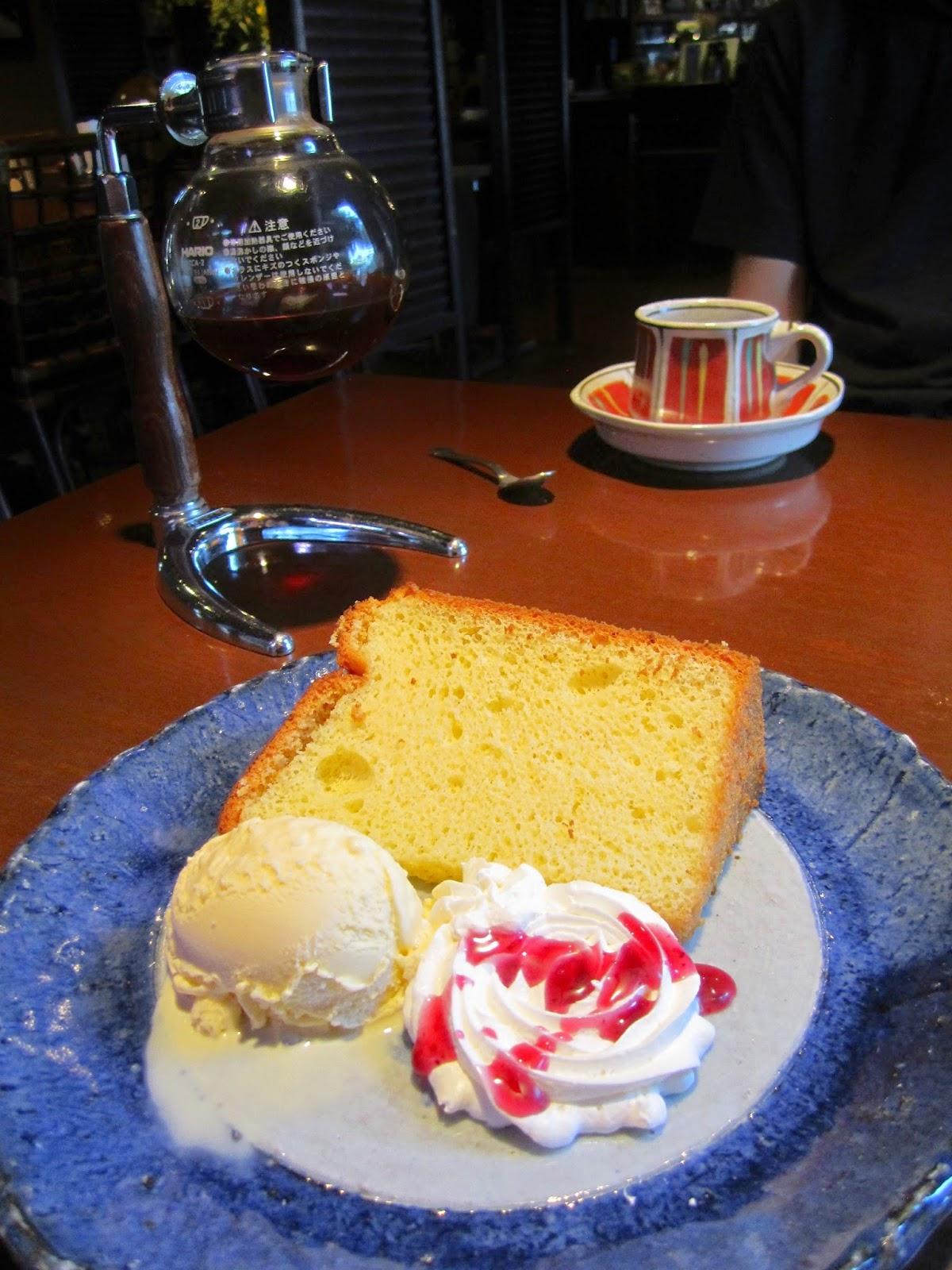 Daily Cake Set Isshin 本日のケーキセット イッシン