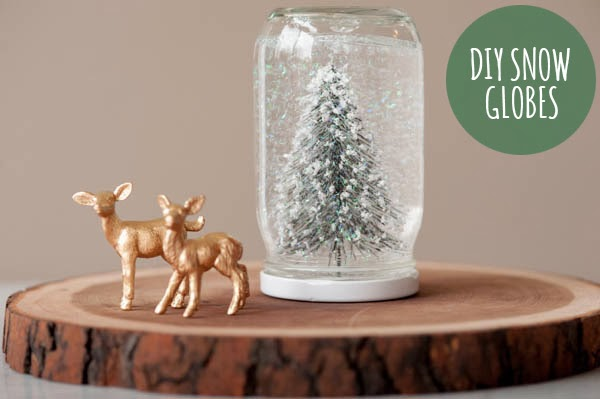Orchard Girls Inexpensivehomemade Christmas Gifts Diy Snow Globes