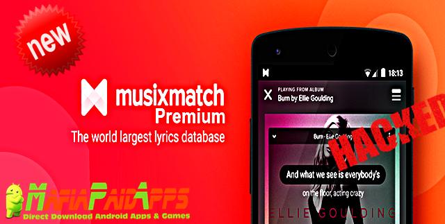 Image result for musixmatch pro apk