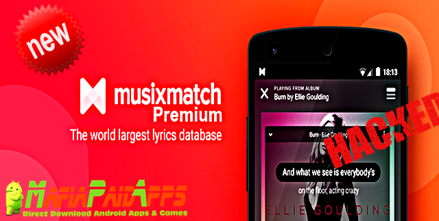 Image result for musixmatch pro apk