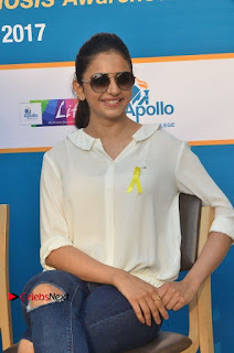 Actress Rakul Preet Singh at Endometriosis Awareness Walk at Apollo Cradle  0059.jpg