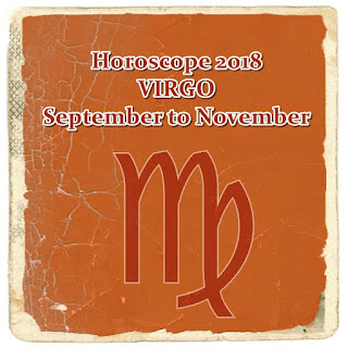 Horoscope 2018 VIRGO September, October and November forecast