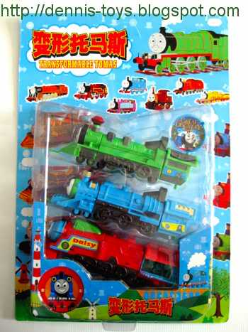Katsuden's Collect'emALL: Thomas the Train Transformers