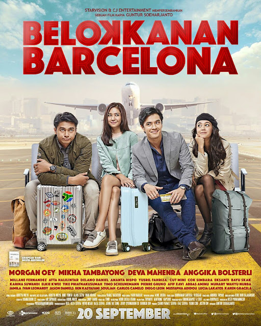 Film Belok Kanan Barcelona. Source: instagram.com/belokkananbarcelona