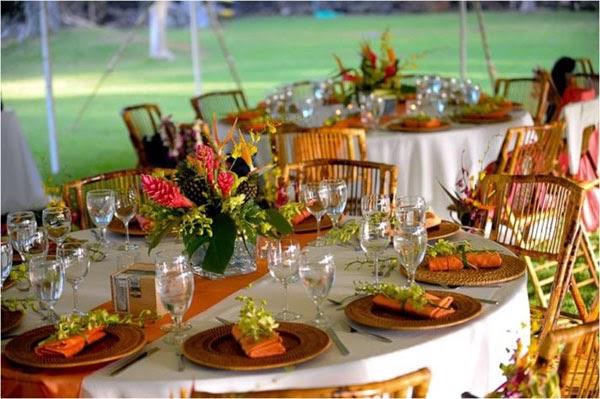 Ideas For The Tropical Themed Wedding: Ideas Y Cosas Para Tus Fiestas Infantiles: Boda Al Aire Libre