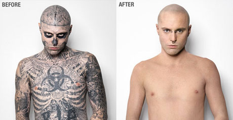 Go Beyond the Cover com o Zombie Boy