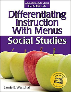 Differentiating Instruction With Menus: 3-5 Social Studies