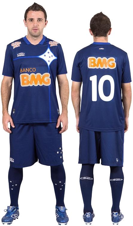e7138fd1b8 Cruzeiro lança terceiro uniforme para 2012 2013 - Show de Camisas