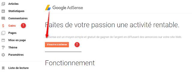 الاشتراك في جوجل ادسنس