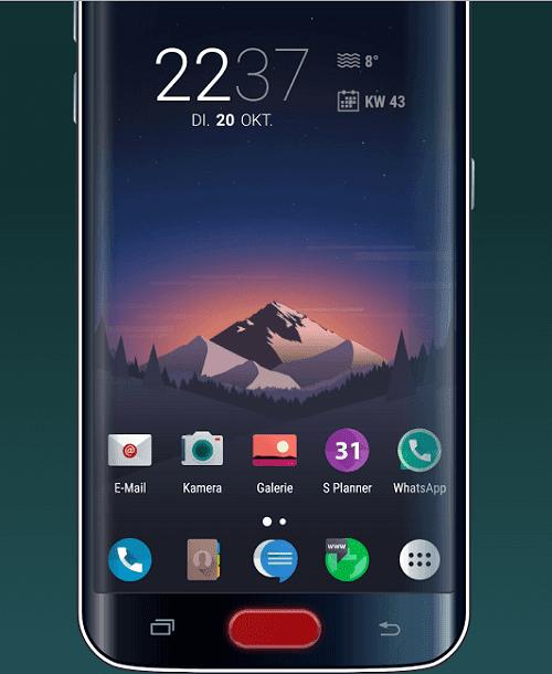 حل مشكلة تعطل زر الهوم عبر تطبيق easyHome for Samsung