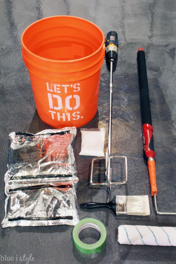 Anti-Slip garage floor supplies