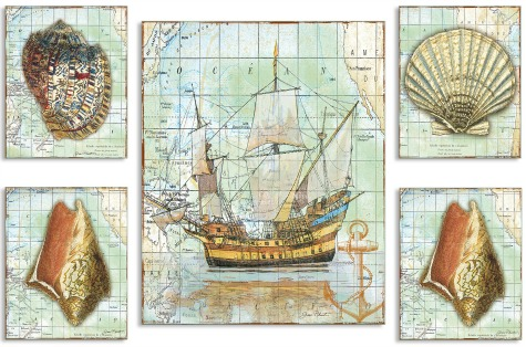 Nautical Chart Art