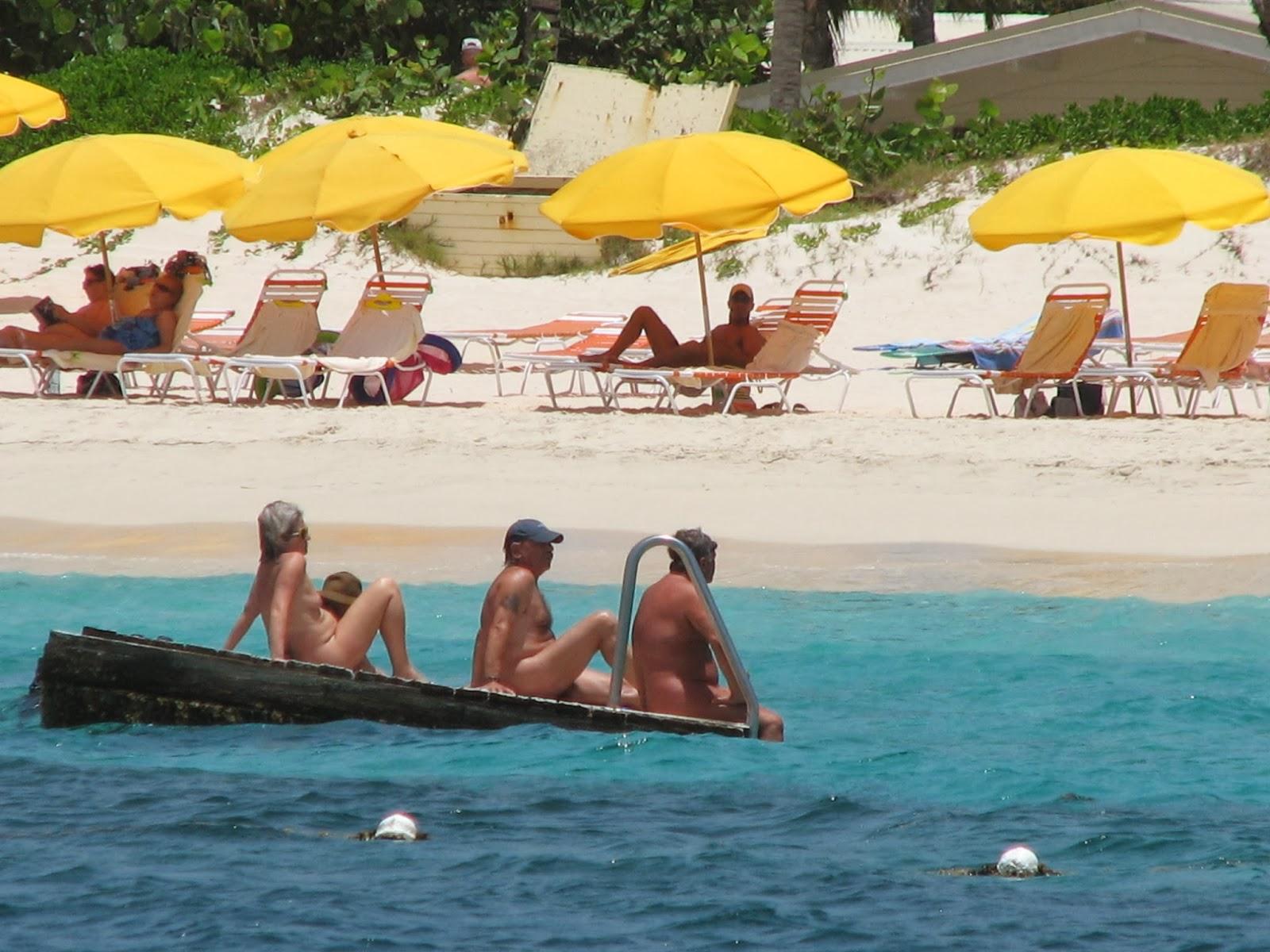 St Maarten, SXM - Orient Beach (Nudist Beach) - CARIBBEAN