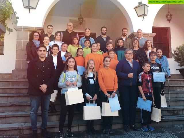 Una veintena de menores participan en el Pleno Extraordinario Infantil de Los Llanos de Aridane