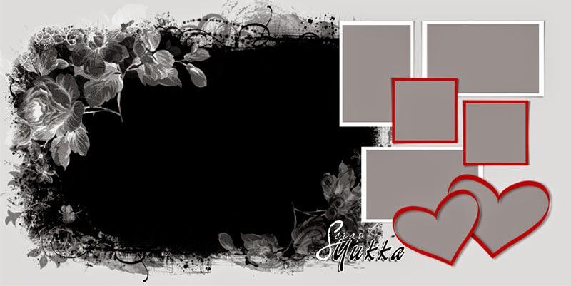 шаблоны ко дню влюбленных