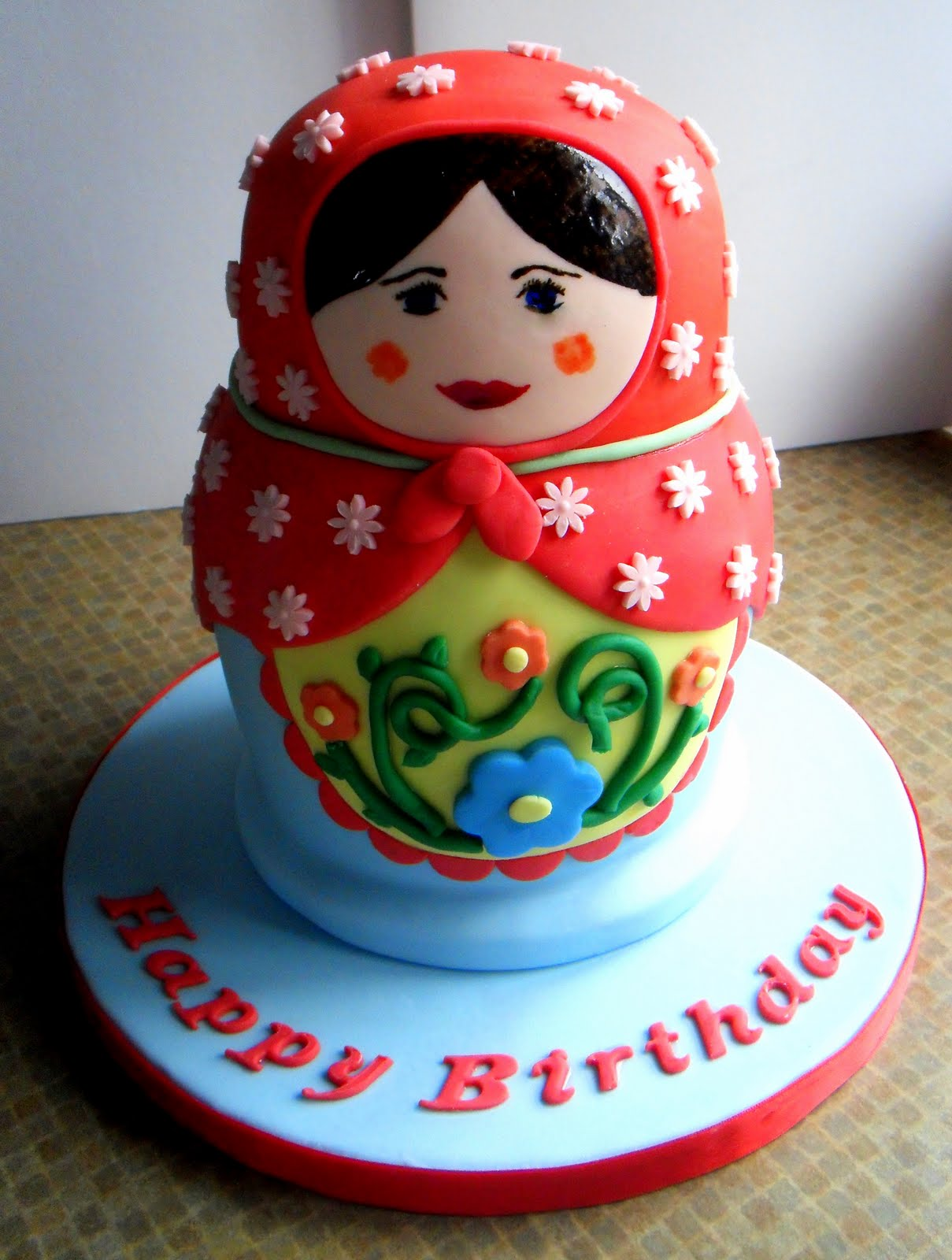 Sugar Loves Co.: Russian Doll Cake