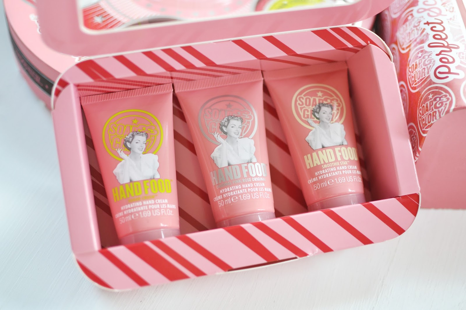SOAP & GLORY christmas gift set