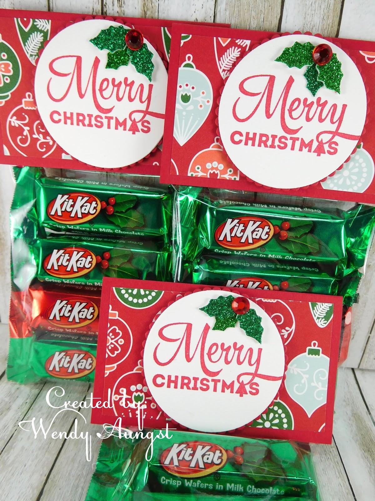 WeeBeeStampin4Fun: Kit Kat Treats...Yes Please!