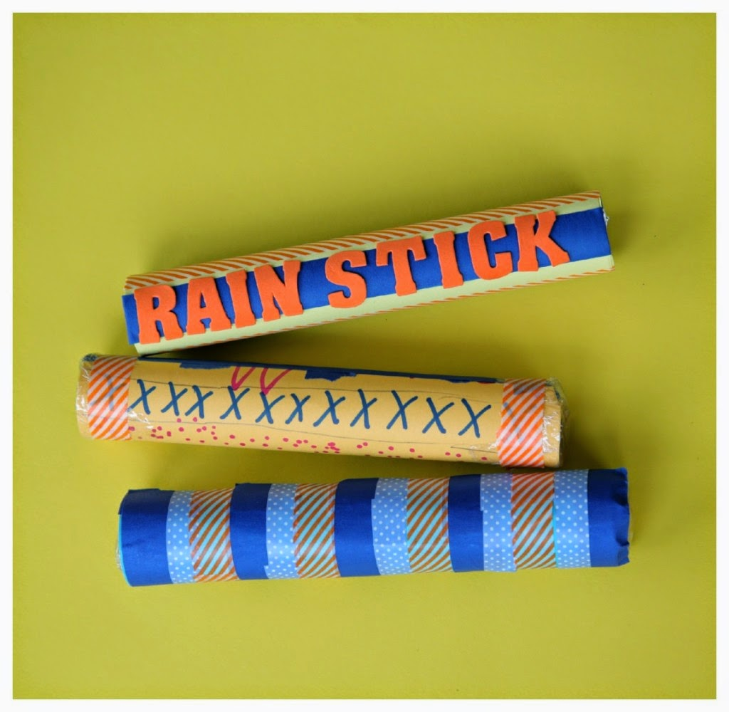 Crafts Made From Paper Towel Rolls: Make Your Own Rainstick